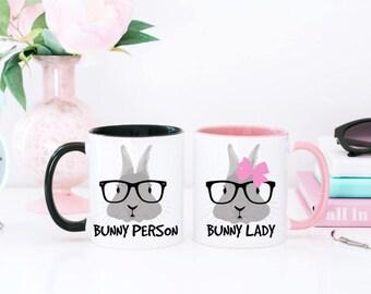 Bunny Mug - Bunny Person Mug - Mug for Bunny Owner - Bunny Coffee Mug - Bunny Coffee Cup - Rabbit Owner Gift