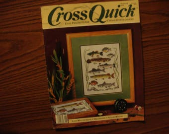 Vintage Cross Quick December/January 1989 Issue, Cross stitch Magazine, Cross stitch patterns, Cross stitch Charts, Cross stitch designs