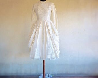 Lace Wedding dress/ white Lace