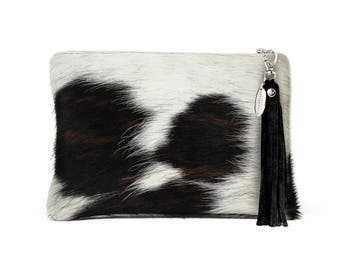 Cow Hide Clutch | Excat Bag you Will Receive