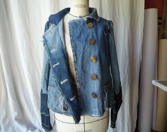 jacket Navy jean M.