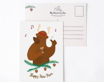 Happy New Year Bear