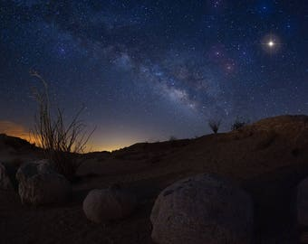 Milky Way Fonts Point Anza Borrego State Park CA