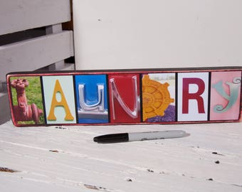 Laundry Room Decor New Home Gift Laundry Sign Laundry Decor Wood Laundry Sign Laundry Room Art Laundry Wall Decor Custom Laundry Home Decor