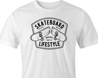 Skateboard T-shirt print, Skateboard Lifestyle T-shirt, Skateboarders T-Shirt print, Skateboard Print, Skateboard lifestyle Print T-Shirt.