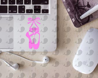 Ballet Slippers Decal, Ballet Slippers Laptop Decal, Ballet Slippers Car Decal, Ballet Slippers Yeti Decal