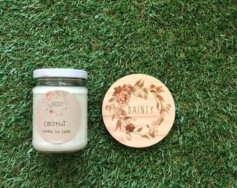 Coconut   Mini Jar Candle