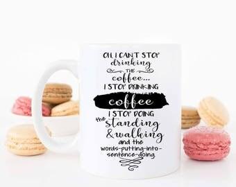 Gilmore Girls Mug, Funny Mug,  Gilmore Girls Gifts, Gilmore Girls Cup, Coffee Mug, Oversized Coffee Mug, Dishwasher Safe Mug