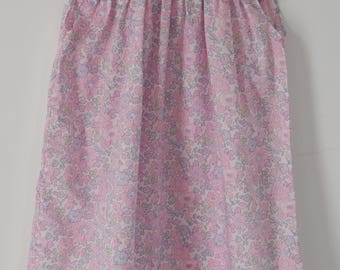 Dress in liberty Betsy blotter for bridesmaid