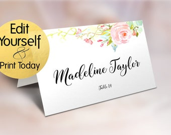 place card template wedding place card template table number name card seating