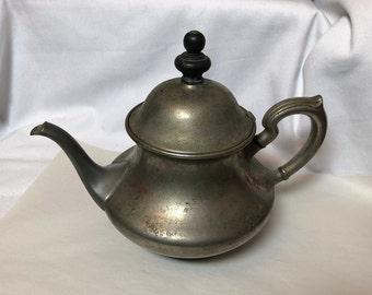 Antique Teapot  Landers Frary and Clark  Universal Tea Ball Tea Pot  Built In Infuser