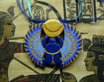 Ethnic jewelry ethnic necklace Ancient Egypt witch jewelry scarab necklace egyptian necklace egyptian pendant egyptian revival gifts for mom
