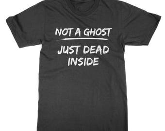 Not a Ghost Just Dead Inside t-shirt funny emo shirt present top gift