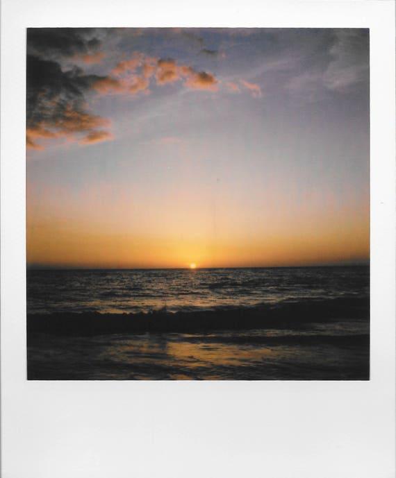 Set of Four : Floridaesthetics / Vintage Style Original Polaroids by Dan Bell