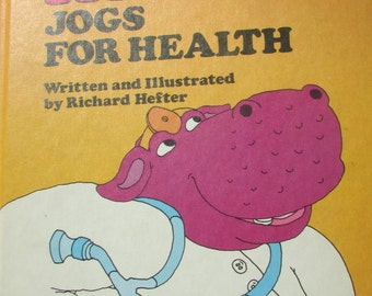 Vintage Sweet Pickles Hardcover Hippo Jogs for Health