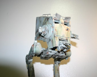 AT-ST Chicken Walker, Pose Able Hand Painted Model