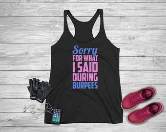 Workout Tank Top, Fitness Tank Top, Yoga Shirt, Gym Shirt, Workout Shirt, Running T Shirt