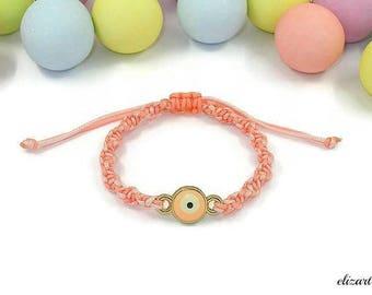 Evil eye baby bracelet, toddler bracelet, infant bracelet, newborn bracelet, baby protection bracelet, baby girl bracelet, keepsake bracelet
