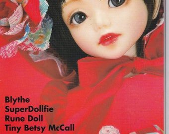 Dolly Bird Sewing Cute Toy Japanese eBook Pattern Craft Instant Download PDF Tutorial Pictures Sewing Pattern Doll Blythe Nice Pattern Book