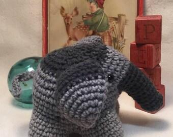 Elephant Crochet pre order pattern AmigurumiPalooza
