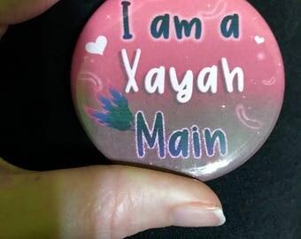 Xayah Main- League of Legends Button