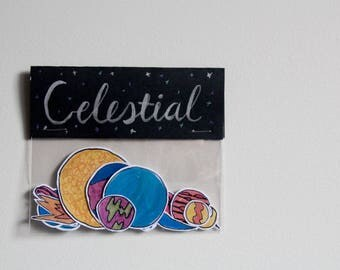 Celestial Stickers