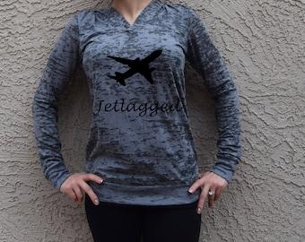 Jet lagged Sweater . Jet Setter Shirt . Jetlagged Shirt .  #Jetsetter Jetsetter Hoodie. Travel Sweatshirt. Travel Hoodie.