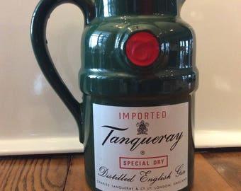 Wade Gin advertising  ceramic pitcher jug or creamer jug