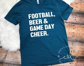 Football Shirt - Game Day Shirt - Tailgating Shirt - Womens Football Shirts - Game Day Shirts - Football - Football Tees - Fall Tees