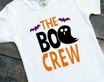 Boo crew baby toddler Halloween bodysuit tshirt