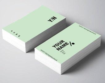 Business Card Design | Kiki - 4 Colours