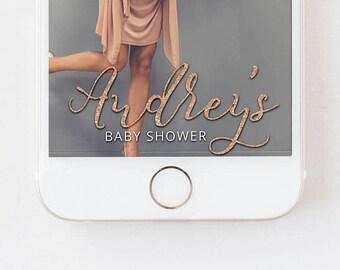Snapchat Filter Baby Shower, Snapchat Baby Shower Filter, Baby Shower Geofilter, Baby Shower Geofilters, Snap Filter, Glitter Geofilter, D7