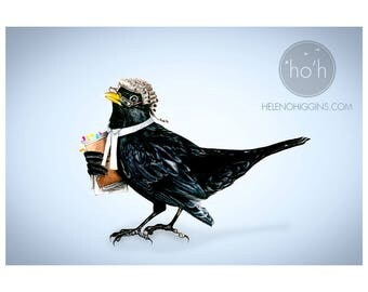 The Legal Blackbird - Art Print