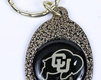 Colorado Buffaloes Keychain & Keyring - Oval