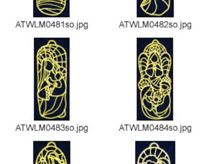 FSL-Nativity-Ornaments ( 10 Machine Embroidery Designs from ATW ) XYZ17K