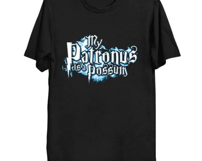 My PATRONUS IS A POSSUM Custom T-Shirt Magic Animal Charm Fantastic Beasts Wizard Spell Fantasy Shirt