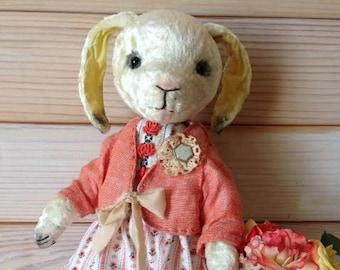 Bunny stuffed Teddy Teddy bear Stuffed bear Plush bear Plush bunny Teddy Bunny Plush rabbit Yellow Hare