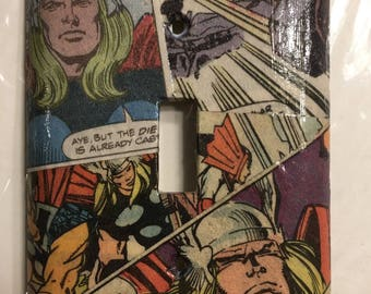 The Mighty Thor light switch cover