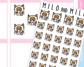 Happy Mail Cat  | Planner Stickers |
