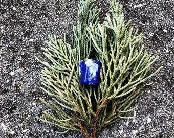 Lapis Lazuli (#2) Reiki Charged  – EXACT crystal shown (1)