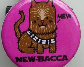 """Star Wars parody """"Chewy Kitty-Mewbacca"""" badge reel"""