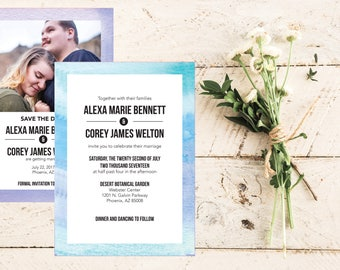 Alexa Wedding Invitation Suite