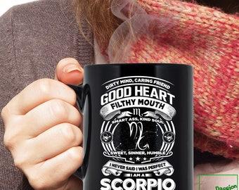 Scorpio Mug, Scorpio Zodiac Mug, Scorpio Astrology Mug, Scorpio Astrology Birthday Gift, Scorpio Horoscope Sign, Scorpio Coffee Mug, TP5007M