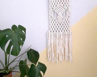 Macrame wall hanging | Wall art | Weaving | Boho | Scandi