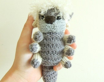 Appa Plush Knitted Handmade Amigurumi Flying Bison Avatar plush Toy - From Avatar the Last Airbender and Legend of Korra.