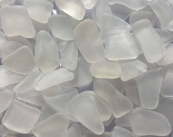 200 Mini White Sea Glass, Clear Sea Glass, Mini Sea Glass, Tiny Sea Glass Pieces, Maine Sea Glass, Genuine Sea Glass, Sea Glass Bulk