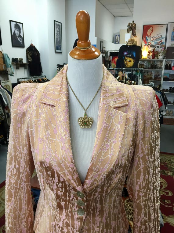 Gorgeous Christian Lacroix  Vintage 1990s   Suit Made in France