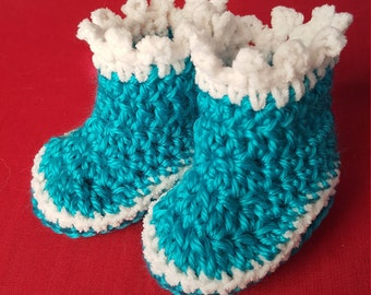 Pattern Prince Aeres Baby Booties