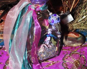 Spell Bottle, Peace Spell Bottle, Serenity Spell Bottle, Herbl Magick, Ritual Spell Bottle,Calming Spell, Wellbeing, Herbs, Witchcraft