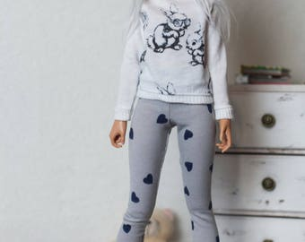 Leggings for minifee (Active Line)/BJD clothes/MSD clothes/MSD outfit/bjd outfit/minifee clothes